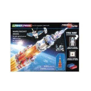 Templar Laser Pegs - Mars Rocket