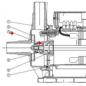 Procopi 591522 - Garniture mécanique de pompe Niper et de pompe Basic