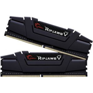 G.Skill F4-3200C14D-16GVK - Barrette mémoire Ripjaws V 16 Go (2 x 8 Go) DDR4 CAS 14