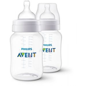 Philips Avent - SCF563/27 - Lot de 2 Biberons Classic+ 260ml, 1 mois+