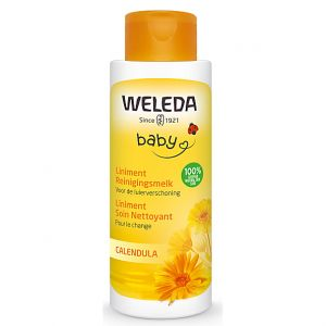 Weleda Baby Liniment Soin Nettoyant Pour le Change Calendula - 400ml