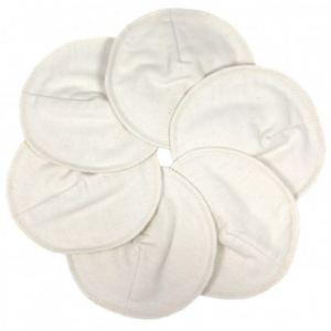 ImseVimse Coussinets d'allaitement lavables en coton bio (6 pièces)