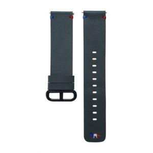 Samsung Bracelet en cuir 20 mm Vert pour Watch Active