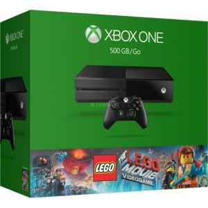 Microsoft Xbox One 500 Go pack Lego Movie