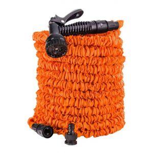 Tuyau 30m extensible orange + pistolet