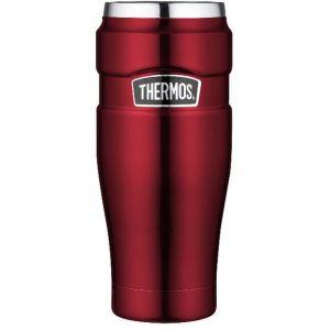 Thermos En inox 470 ml-King-Gobelet de voyage, rouge, 0,47 l