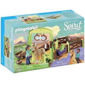 Playmobil 9479 - Apo et Chica Linda box
