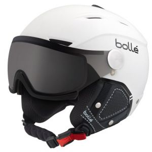 Bollé Casque De Ski/Snow Backline Visor Prenium Soft White & Black Modulator 54-56 54/56