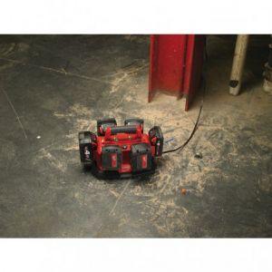 Milwaukee Chargeur universel pour batterie de 14,4 à 18 Volts système jusqu'à 6 Batteries en même temps M1418C6 4932430086
