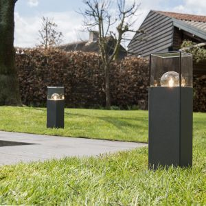 Qazqa Lampe extérieure P30 graphite - Denmark