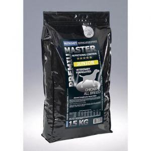 Nutrivet Master Premium - Croquettes chien master junior 15 k g