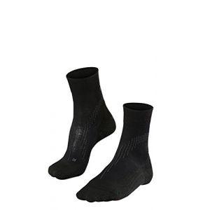 Falke Stabilizing Cool Chaussettes de Running Femme, Noir, FR : S (Taille Fabricant : 35-36)