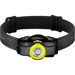 Led lenser MH5 Headlight, black/yellow Lampes frontales course à pied