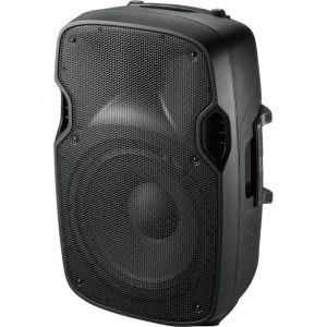 """Ibiza Sound Ibis XTK12 Enceinte Sono Moulée Passive 12""""/30 cm 500 W Noir"""