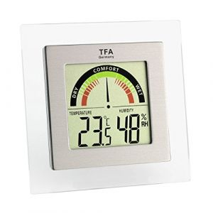 TFA Dostmann 30.5023 Thermomètre hygromètre numérique avec affichage de la zone de confort