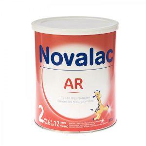 Novalac Lait AR 2ème âge 800 g - de 6 à 12 mois