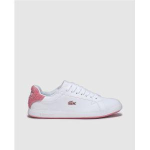 Lacoste Chaussures sport avec logo brodé Rose - Taille 55