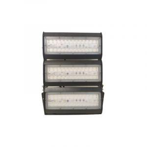 Silamp Projecteur LED Industriel 150W IP65 Noir - Blanc Froid 6000K - 8000K