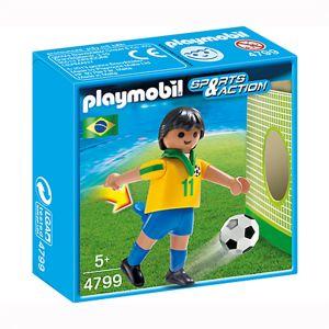 Playmobil 4799 Sports et Action - Joueur équipe Brésil