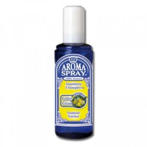 Saint côme Aromaspray cèdre & citron - Assainisseur d'atmosphère