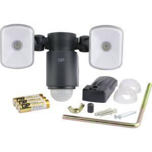 GP Projecteur extérieur LED sans fil SafeGuard RF 2.1 Noir