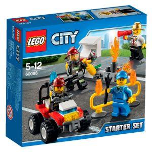 Lego 60088 - City : Ensemble de démarrage Pompiers