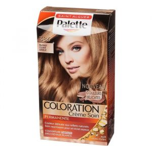 Saint Algue Coloration sans ammoniaque - Palette blond clair sable 386