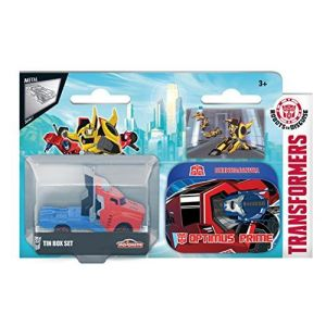 Smoby Majorette Transformers X1 Boîte Métal - Modèle Aléatoire