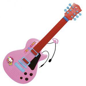 Reig Musicales Guitare électronique avec micro Hello Kitty