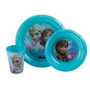 Set vaisselle 3 pièces La Reine des neiges