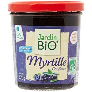 Jardin Bio Confiture extra myrtille sauvage