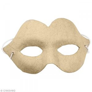 decopatch AC376O - Masque charme, en papier mâché