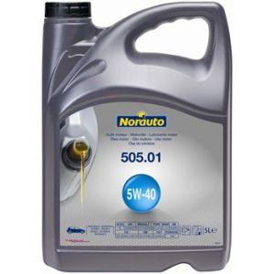 Norauto Huile moteur 5W40 505.01 Essence et Diesel 5 L