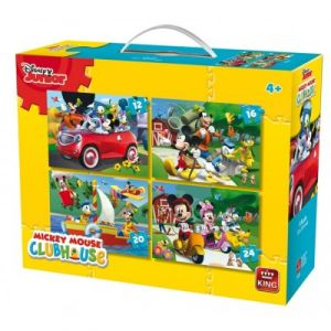 King International 4 puzzles Disney Junior Mickey Mouse Clubhouse
