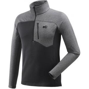 Millet Technostretch - T-shirt manches longues Homme - gris/noir S T-shirts techniques