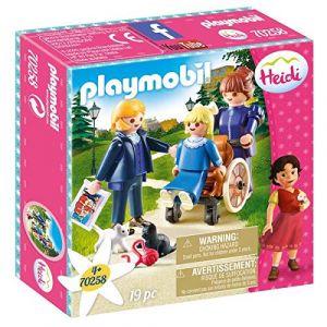 Playmobil 70258 - Heidi - Clara avec son père et Mlle Rottenmeier - 2020