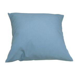 Naterial Coussin polyester carré 43x43cm LOLA Bleu