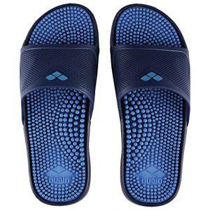 Arena Marco X Grip Hook, Chaussures de Plage et Piscine Homme, Bleu (Solid Fastblue 044), 44 EU