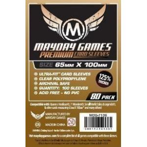 Mayday Games MDG7106 - 80 protège cartes 65 x 100 mm Premium pour 7 Wonders