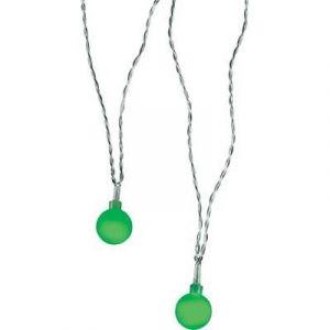 Polarlite 679995 - Guirlande lumineuse à motifs boules LED pour l'intérieur secteur vert 10.7 m