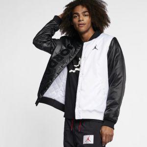 Veste jordan noir et blanc