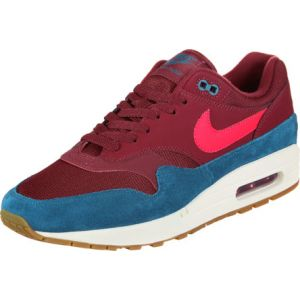 Nike Baskets Air Max 1 pour Homme - Rouge - Taille 45.5