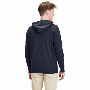 Jack & Jones Sweatshirts Jack---jones Eholmen Sweat Zip Hood - Navy Blazer - XS