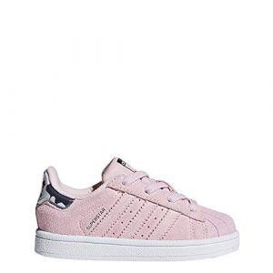Adidas Superstar El I, Chaussures de Fitness Mixte Enfant, Rose