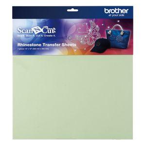 Brother 7 feuilles de transfert pour application de strass ScanNCut - 30.5x30.5cm