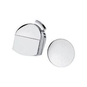 Hansgrohe 58127000 - Set de finition Exafill pour vidage de baignoire chromé