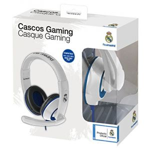 Subsonic Casque Gaming Real Madrid