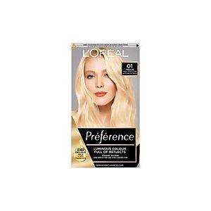 L'Oréal Preference 01 Lightest Blonde