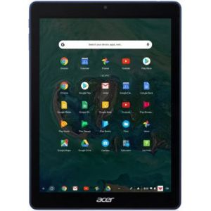 "Acer Chrometab 10 D651N-K8FS Tablette tactile 9,7"" FHD Bleu/Noir"