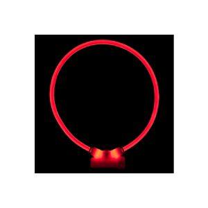 RedDingo Lumitube collier de sécurité rouge pour chien S-L